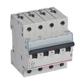 Legrand TX3 Автоматический выключатель 4P 16A (B) 6000/10kA