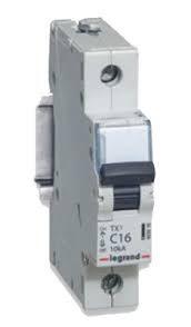Legrand TX3 Автоматический выключатель 1P 10А (С) 6000/10kA