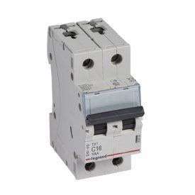 Legrand TX3 Автоматический выключатель 2P 16A (С) 6000/10kA
