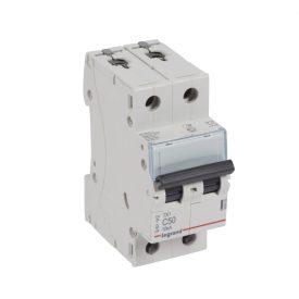 Legrand TX3 Автоматический выключатель 2P 50A (С) 6000/10kA