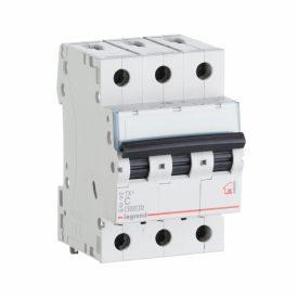 Legrand TX3 Автоматический выключатель 3P 50A (С) 6000/10kA