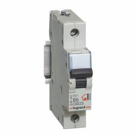 Legrand TX3 Автоматический выключатель 1P 6A (B) 6000