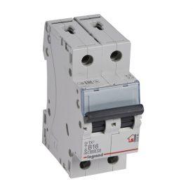 Legrand TX3 Автоматический выключатель 2P 16A (B) 6000