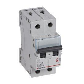 Legrand TX3 Автоматический выключатель 2P 20A (B) 6000