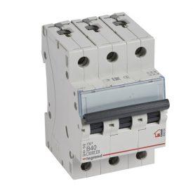 Legrand TX3 Автоматический выключатель 3P 40A (B) 6000