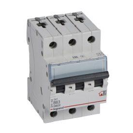 Legrand TX3 Автоматический выключатель 3P 63A (B) 6000