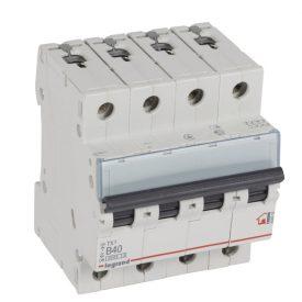 Legrand TX3 Автоматический выключатель 4P 40A (B) 6000