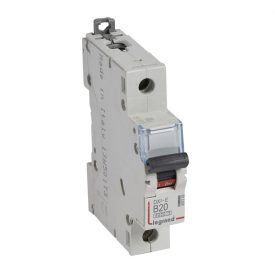 Legrand DX3-E Автоматический выключатель 1P 20А (В) 6000/6kA