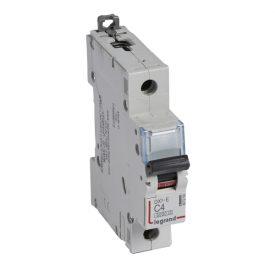 Legrand DX3-E Автоматический выключатель 1P 4А (С) 6000/6kA