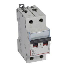Legrand DX3-E Автоматический выключатель 2P 3А (С) 6000/6kA