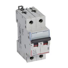 Legrand DX3-E Автоматический выключатель 2P 10А (С) 6000/6kA