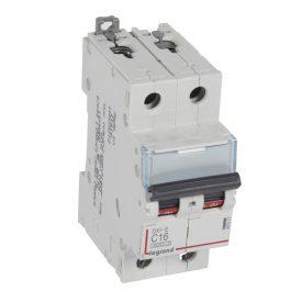 Legrand DX3-E Автоматический выключатель 2P 16А (С) 6000/6kA