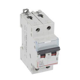 Legrand DX3-E Автоматический выключатель 2P 20А (С) 6000/6kA