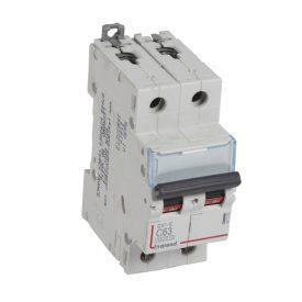 Legrand DX3-E Автоматический выключатель 2P 63А (С) 6000/6kA