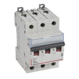 Legrand DX3-E Автоматический выключатель 3P 2А (С) 6000/6kA