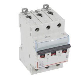 Legrand DX3-E Автоматический выключатель 3P 25А (С) 6000/6kA