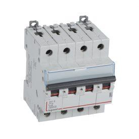 Legrand DX3-E Автоматический выключатель 4P 2А (С) 6000/6kA