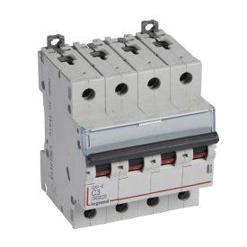 Legrand DX3-E Автоматический выключатель 4P 3А (С) 6000/6kA