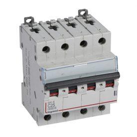 Legrand DX3-E Автоматический выключатель 4P 25А (С) 6000/6kA