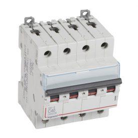 Legrand DX3-E Автоматический выключатель 4P 40А (С) 6000/6kA