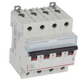 Legrand DX3-E Автоматический выключатель 4P 63А (С) 6000/6kA