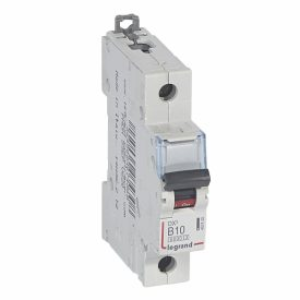 Legrand DX3 Автоматический выключатель 1P 10A (B) 6000/10kA