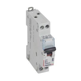 Legrand DX3 Автоматический выключатель 1P+N 1А (B) 6kA/10кА