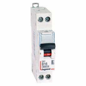 Legrand DX3 Автоматический выключатель 1P+N 16А (B) 6kA/10кА