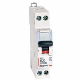 Legrand DX3 Автоматический выключатель 1P+N 20А (B) 6kA/10кА