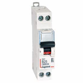 Legrand DX3 Автоматический выключатель 1P+N 25А (B) 6kA/10кА
