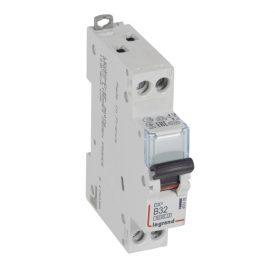 Legrand DX3 Автоматический выключатель 1P+N 32А (B) 6kA/10кА