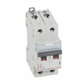 Legrand DX3 Автоматический выключатель 2P 1A (B) 6000/10kA