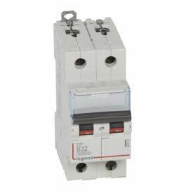 Legrand DX3 Автоматический выключатель 2P 32A (B) 6000/10kA