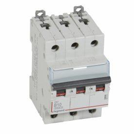 Legrand DX3-E Автоматический выключатель 3P 10А (B) 6000/10kA
