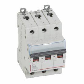 Legrand DX3 Автоматический выключатель 3P 16A (B) 6000/10kA