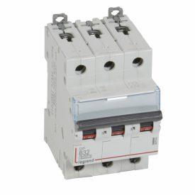 Legrand DX3 Автоматический выключатель 3P 32A (B) 6000/10kA