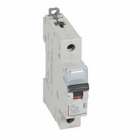Legrand DX3 Автоматический выключатель 1P 25A (C) 6000/10kA