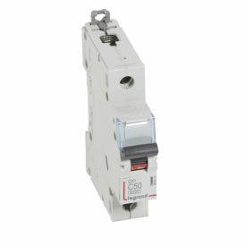 Legrand DX3 Автоматический выключатель 1P 50A (С) 6000/10kA