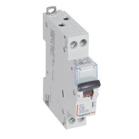 Legrand DX3 Автоматический выключатель 1P+N 6А (С) 6kA/10кА