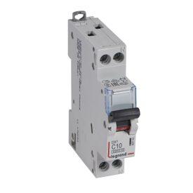 Legrand DX3 Автоматический выключатель 1P+N 10А (С) 6kA/10кА