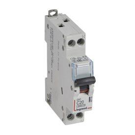 Legrand DX3 Автоматический выключатель 1P+N 20А (С) 6kA/10кА