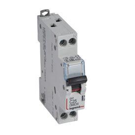 Legrand DX3 Автоматический выключатель 1P+N 25А (С) 6kA/10кА