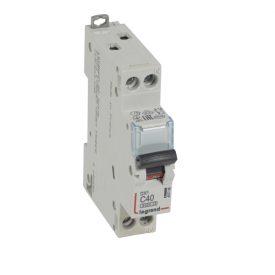 Legrand DX3 Автоматический выключатель 1P+N 40А (С) 6kA/10кА