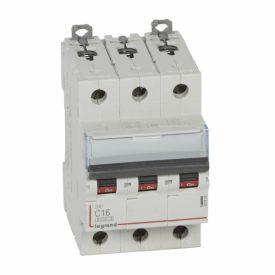 Legrand DX3 Автоматический выключатель 3P 16A (С) 6000/10kA