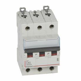 Legrand DX3 Автоматический выключатель 3P 40A (С) 6000/10kA