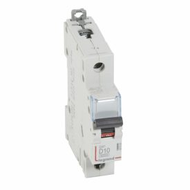 Legrand DX3 Автоматический выключатель 1P 10A (D) 6000/10kA