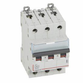 Legrand DX3 Автоматический выключатель 3P 63A (D) 6000/10kA