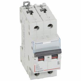 Legrand DX3 Автоматический выключатель 2P 3A (B) 10kA/16kA