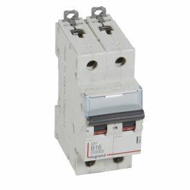 Legrand DX3 Автоматический выключатель 2P 16A (B) 10kA/16kA