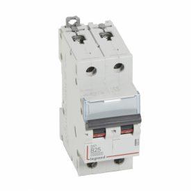 Legrand DX3 Автоматический выключатель 2P 25A (B) 10kA/16kA